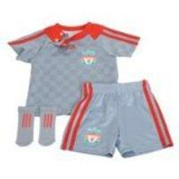 Adidas Liverpool Away Kit 2008/09 - Babies - 18 Months Liverpool Away Kit 2008/09 - BabiesThis is the ideal kit to show your support for your Anfield heros as they mount another challenge for The Barclay (Barcode EAN = 4033914832678) http://www.co...