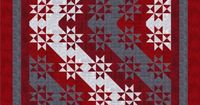 poster: buckeyes quilt pattern | have completed a few more of the blocks.