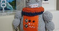 robot free crochet pattern by Is It A Toy