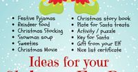 Ideas for your Christmas Eve Box from Merry Elfmas. See our Christmas Eve Boxes and fillers here - http://bit.ly/1Oo26F0